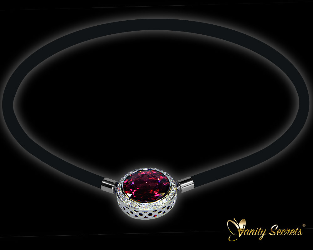 Vanity Secrets Collier Red Tourmaline