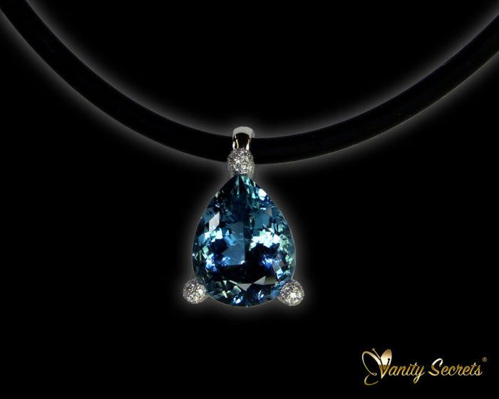 Vanity Secrets London Collier Aquamarine