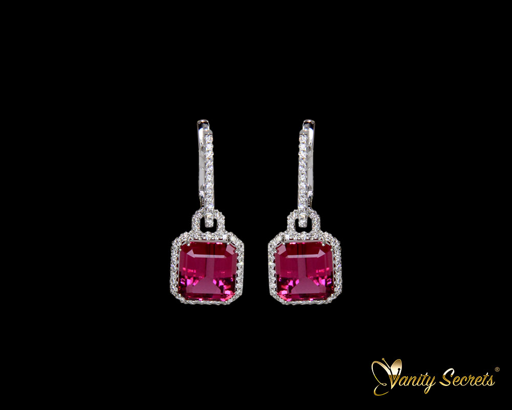 Vanity Secrets London Earings Rubellit