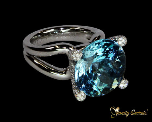 Vanity Secrets London Ring Aquamarine