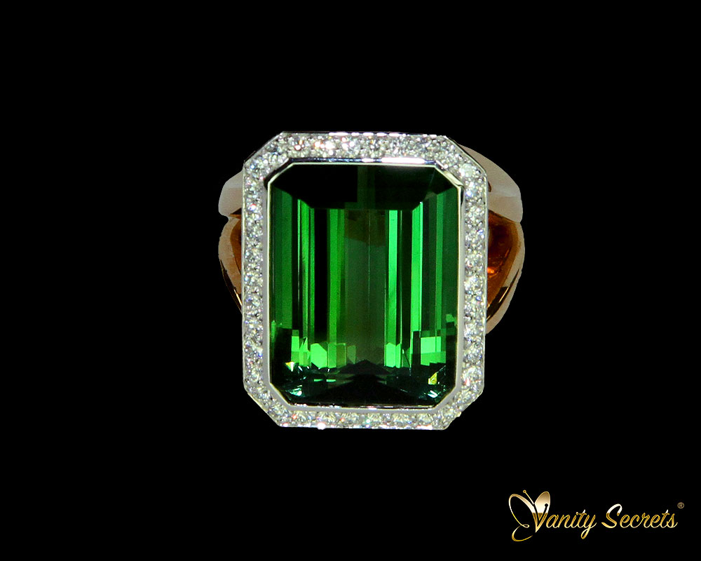 Vanity Secrets Ring Yellow Ceylon Sapphire