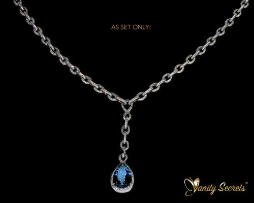 Vanity Secrets London - Collier Madagascar aquamarine drop