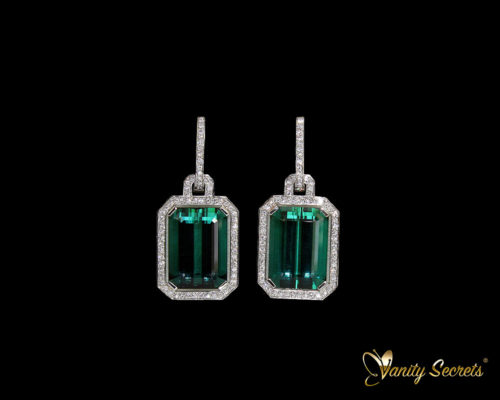 Vanity Secrets London Earrings Namibia Tourmaline
