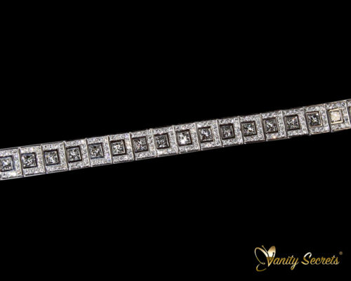 Vanity Secrets London Bracelet Diamond Princess Carree