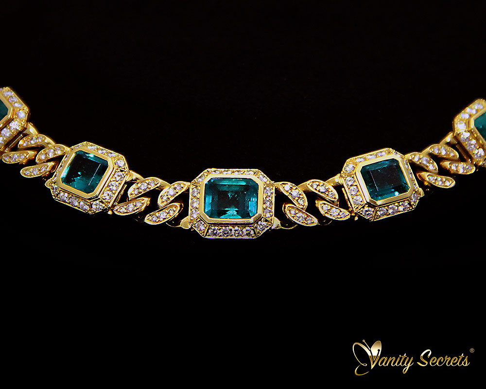 Vanity Secrets London Collier Colombian Emerald