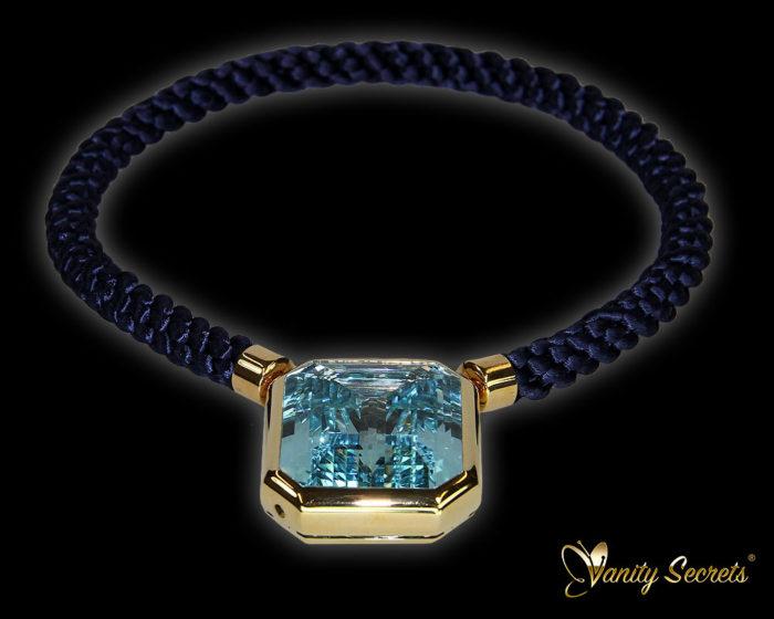 Vanity Secrets London Collier Brazilian Aquamarine