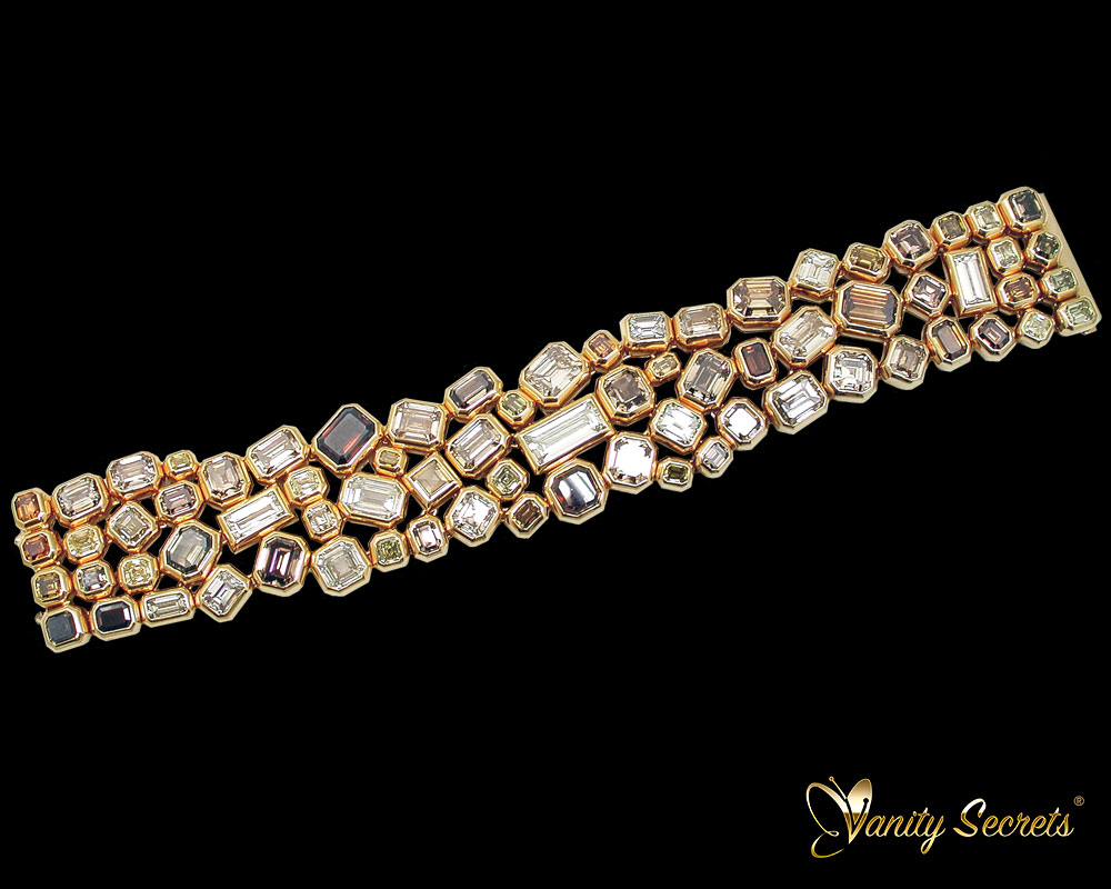 Vanity Secrets London Diamond Bracelet Unique