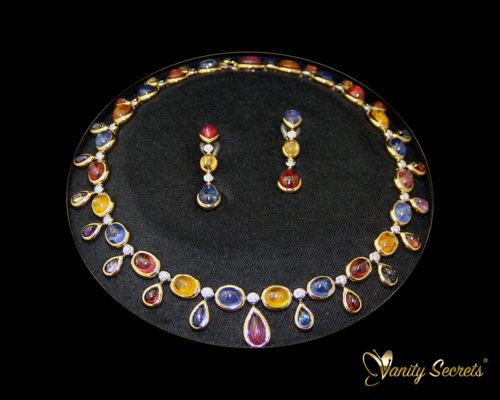 High Jewelry Vanity Secrets Sapphire SET