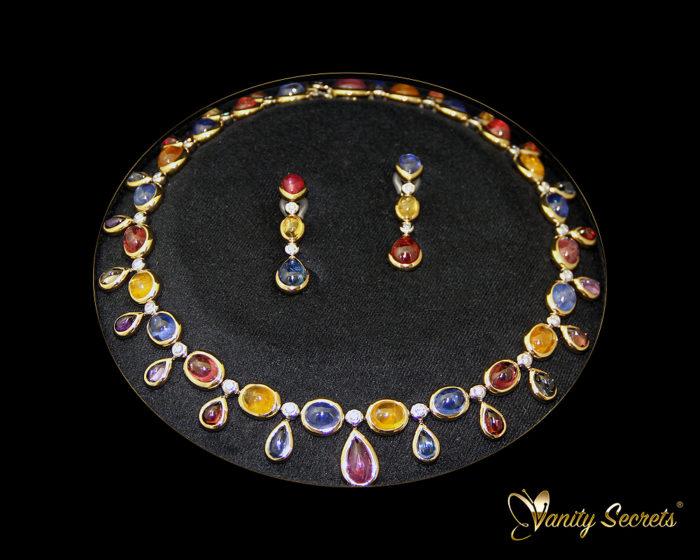 High Jewelry Vanity Secrets Sapphire SET