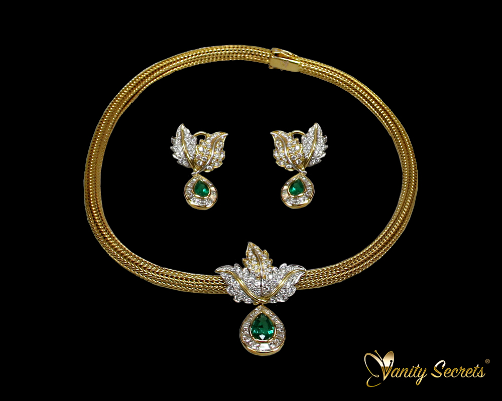 High Jewelry SET Colombian Emerald