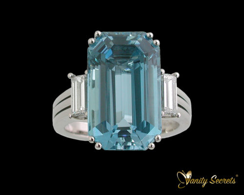Ring Aquamarine High Jewelry