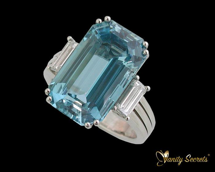 Ring Aquamarine High Jewelry
