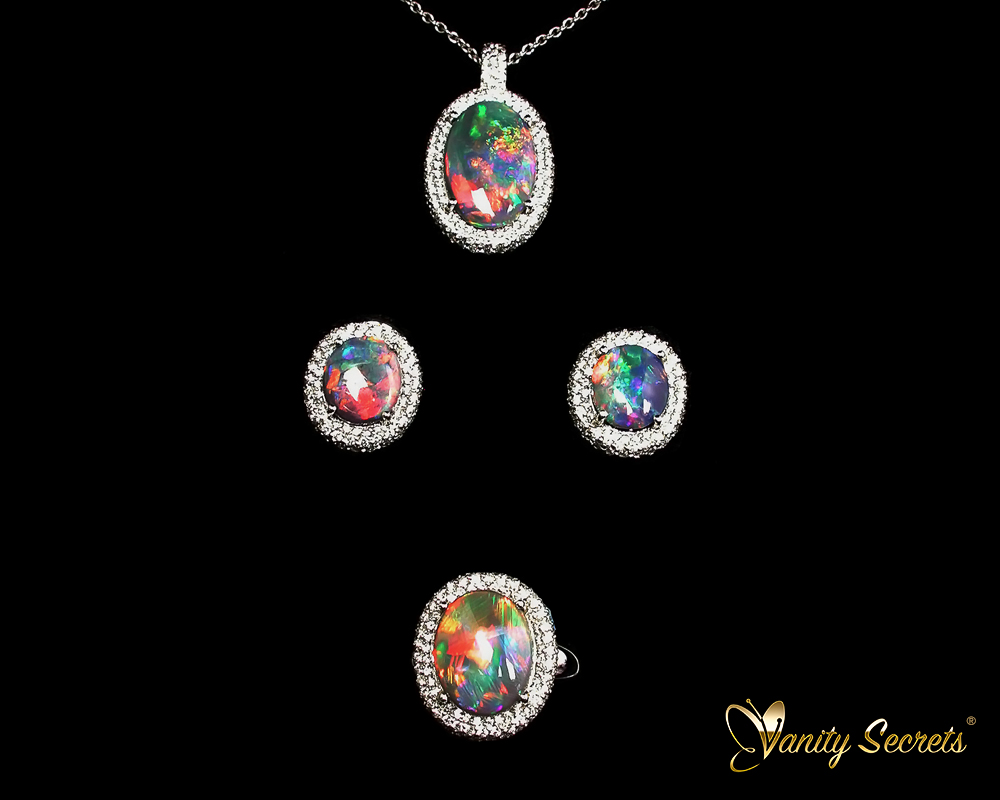 Vanity Secrets London Unique Australia Opal Set