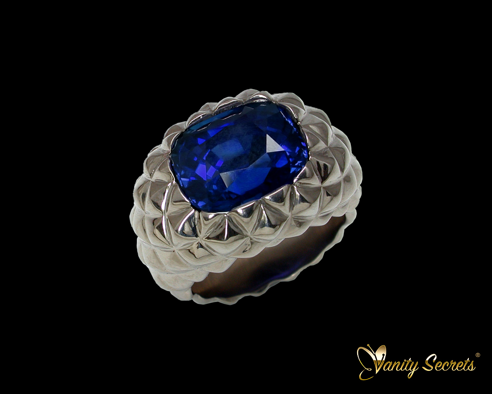 Vanity Secrets London - High Jewerly Sapphire Ring